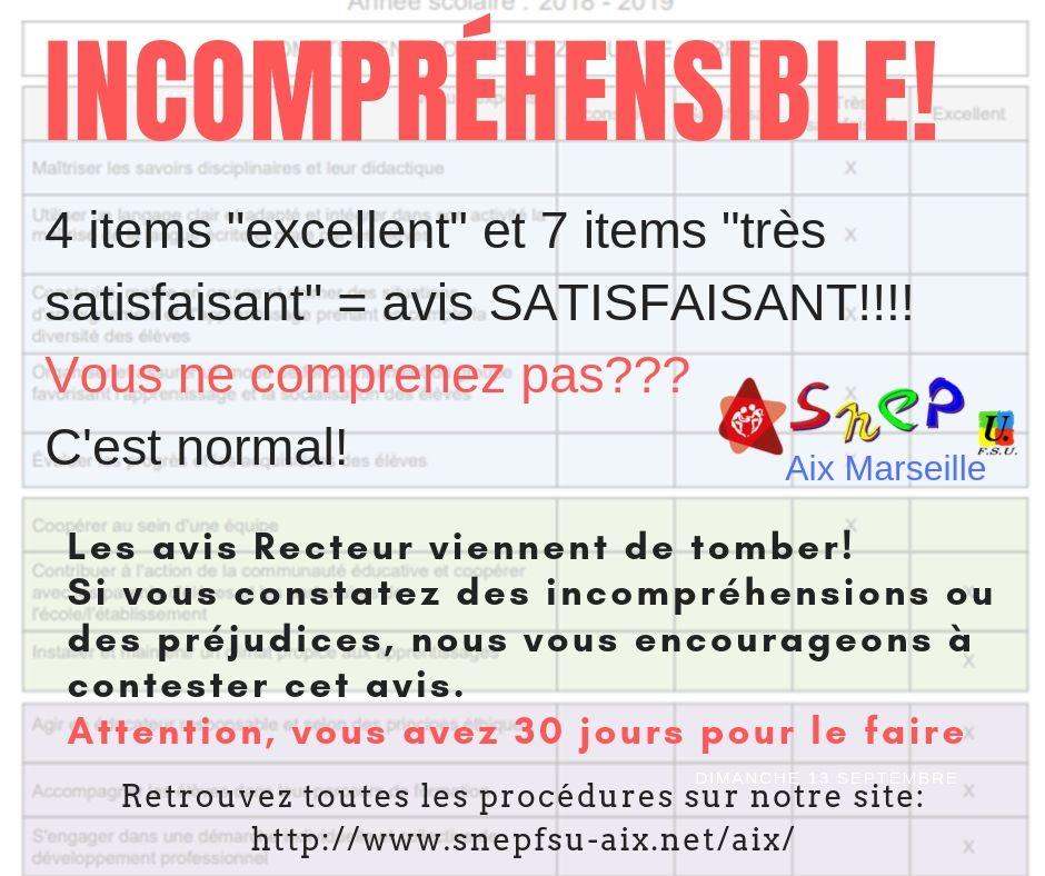 Incompréhensible!!!